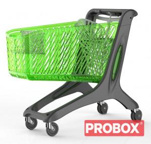 Wózek plastikowy sklepowy 210 L Rabtrolley