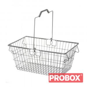 Koszyk sklepowy metalowy SAM 22L