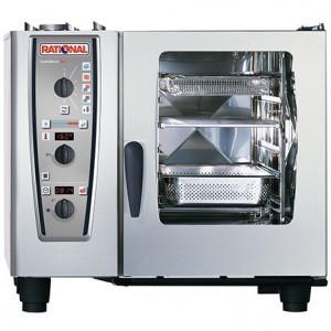 Piec konwekcyjno-parowy elektryczny 6xGN1/1 RATIONAL CombiMaster Plus CM61E