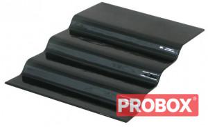 Schody szklane czarne 4-stopnie  670x400mm Ikmet