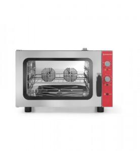 Piec gastronomiczny konwekcyjno-parowy 4x GN1/1 - sterowanie manualne Revolution