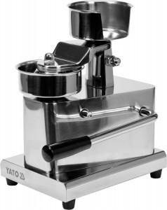 Maszynka do hamburgerów 100 mm Yato Gastro