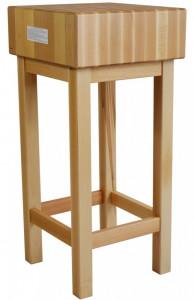 Kloc masarski, rzeźniczy drewniany 400x400x800 mm | OD RĘKI