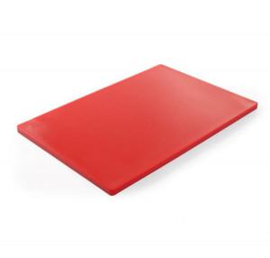 Deska do krojenia HACCP  450x300  czerwona do surowego mięsa