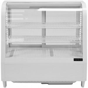 Witryna chłodnicza 100L 68x45x67 biała Yato Gastro