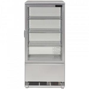 Witryna chłodnicza 78L 43x39x98 czarna Yato Gastro