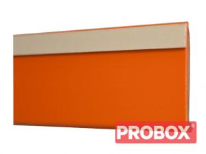 Listwa cenowa samoprzylepna 100 cm pomarańczowa DBR 39