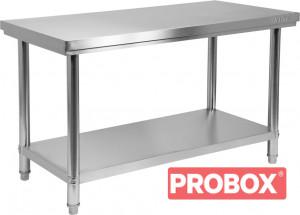 Stół nierdzewny z półką 1000×600×H850mm Yato Gastro