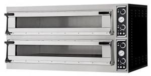 Piec do pizzy TRAYS 66L GLASS na blachy cukiernicze i piekarnicze 600x400 mm podstawa