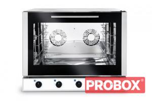 Piec piekarniczy, konwekcyjny z nawilżaniem 4x600x400mm - elektryczny, sterowanie manualne, trójfazo