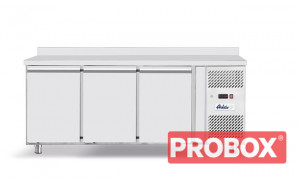 Stół chłodniczy Profi Line 3-drzwiowy z agregatem bocznym, linia 700