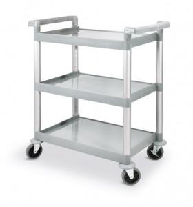 Wózek 3-półkowy z polipropylenu