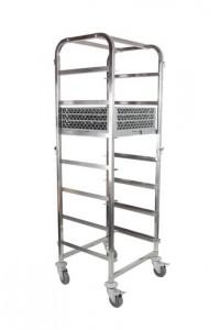 Wózek do transportu koszy do zmywarki - 7x 500x500 mm