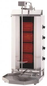 Gyros | opiekacz elektryczny do kebaba | 4 palniki | wsad 60kg KLG 231