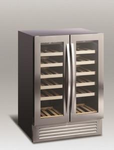 Chłodziarka do wina | szafa chłodnicza na wino | 2 strefy | SV 90 2x60l