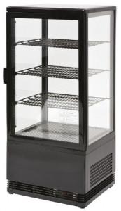 Witryna chłodnicza | RT 79L | ekspozycyjna | czarna | LED | 78l