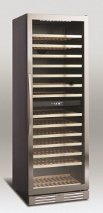 Chłodziarka do wina | szafa chłodnicza na wino | 2 strefy | SV 122 416l