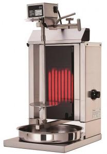 Gyros | opiekacz elektryczny do kebaba | 1 palnik | wsad 5kg KLG 235
