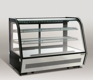 Witryna chłodnicza | cukiernicza | nablatowa | LED | RTW 160 160l