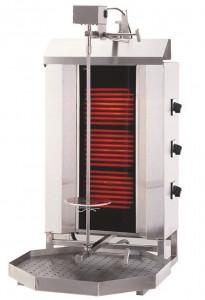 Gyros | opiekacz elektryczny do kebaba | 3 palniki | wsad 40kg KLG 230