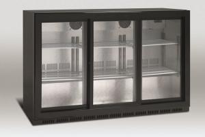 Barowa szafa chłodnicza   chłodziarka podblatowa   SC 309SL 335l drzwi przesuwne