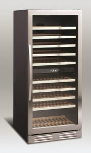 Chłodziarka do wina | szafa chłodnicza na wino | 2 strefy | SV 102 312l