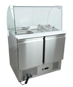 Stół chłodniczy sałatkowy nierdzewny SCHS - 2
