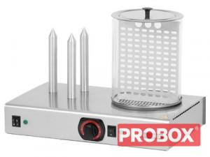 Hot-dog z pojemnikiem podgrzewanym HD - 3N