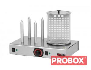 Hot-dog z pojemnikiem podgrzewanym HD - 4N