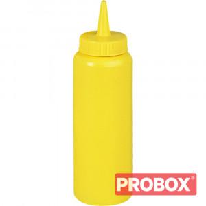 Dyspenser do sosów żółty 0,7 l
