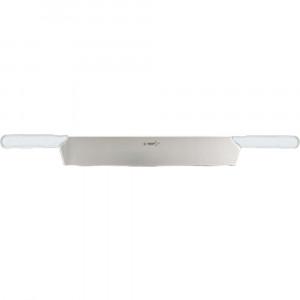 Nóż do sera z dwiema rączkami L 360 mm biały
