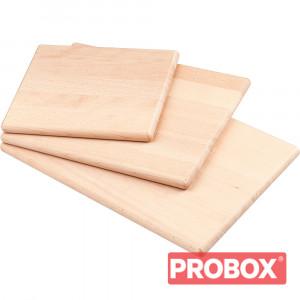 Deska drewniana gładka 250x300
