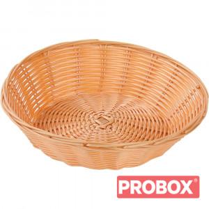 Koszyk do pieczywa polipropylen d 240 mm