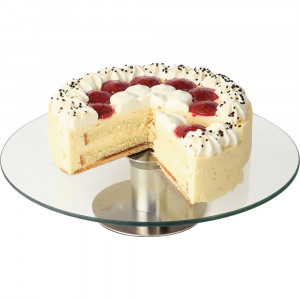 Patera do tortu i ciast szklana d 300 mm