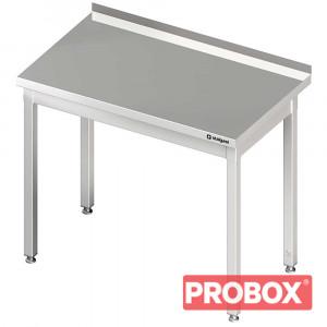 Stół przyścienny bez półki 500x600x850 mm skręcany