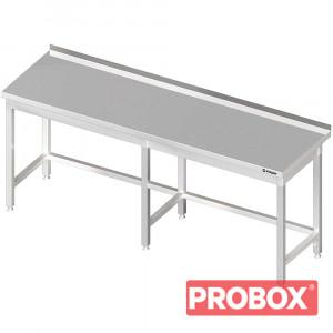 Stół przyścienny bez półki 2200x600x850 mm spawany