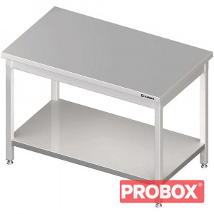 Stół centralny z półką 1800x800x850 mm skręcany