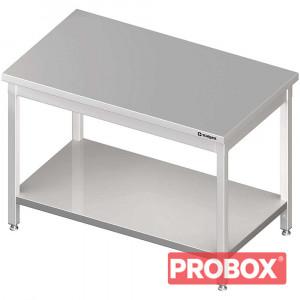 Stół centralny z półką 1800x800x850 mm spawany