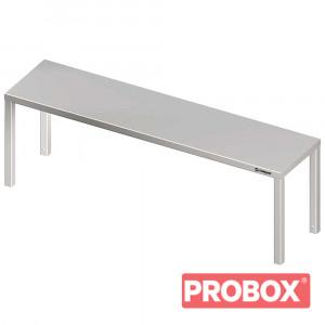 Nadstawka na stół pojedyncza 1200x300x400 mm
