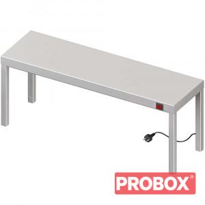 Nadstawka grzewcza na stół pojedyncza 1200x300x400 mm