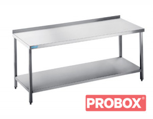 Stół do pracy z półką - głębokość 600 mm Rilling-Krosno Metal