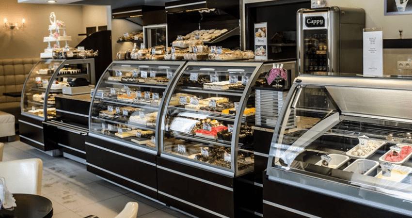 Kompleksowe wyposażenie sklepów chłodnictwo, krajalnice, pieńki, stopnie ekspozycyjne